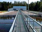 Water and waste water treatment plants (incl. biological MBR, SBR)